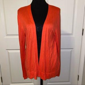 Orange Old Navy Cardigan Sweater
